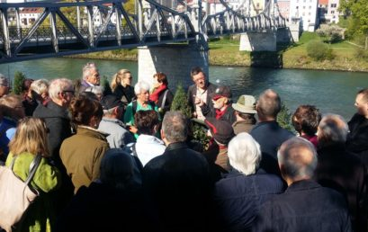 Großes Interesse an der ersten GeoComPass SALZBURG-Exkursion