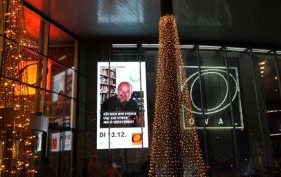 GeoComPass SALZBURG-Referenten im vorweihnachtlichen Lichterglanz