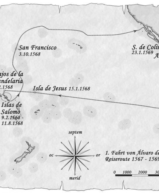Álvaro de Mendaña – Auf der Suche nach der Terra Australis incognita