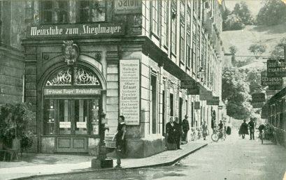"""Architektonische """"Schätze"""" der Salzburger Altstadt – Handel und Gastronomie vom Mittelalter bis heute. Ein virtueller Spaziergang"""