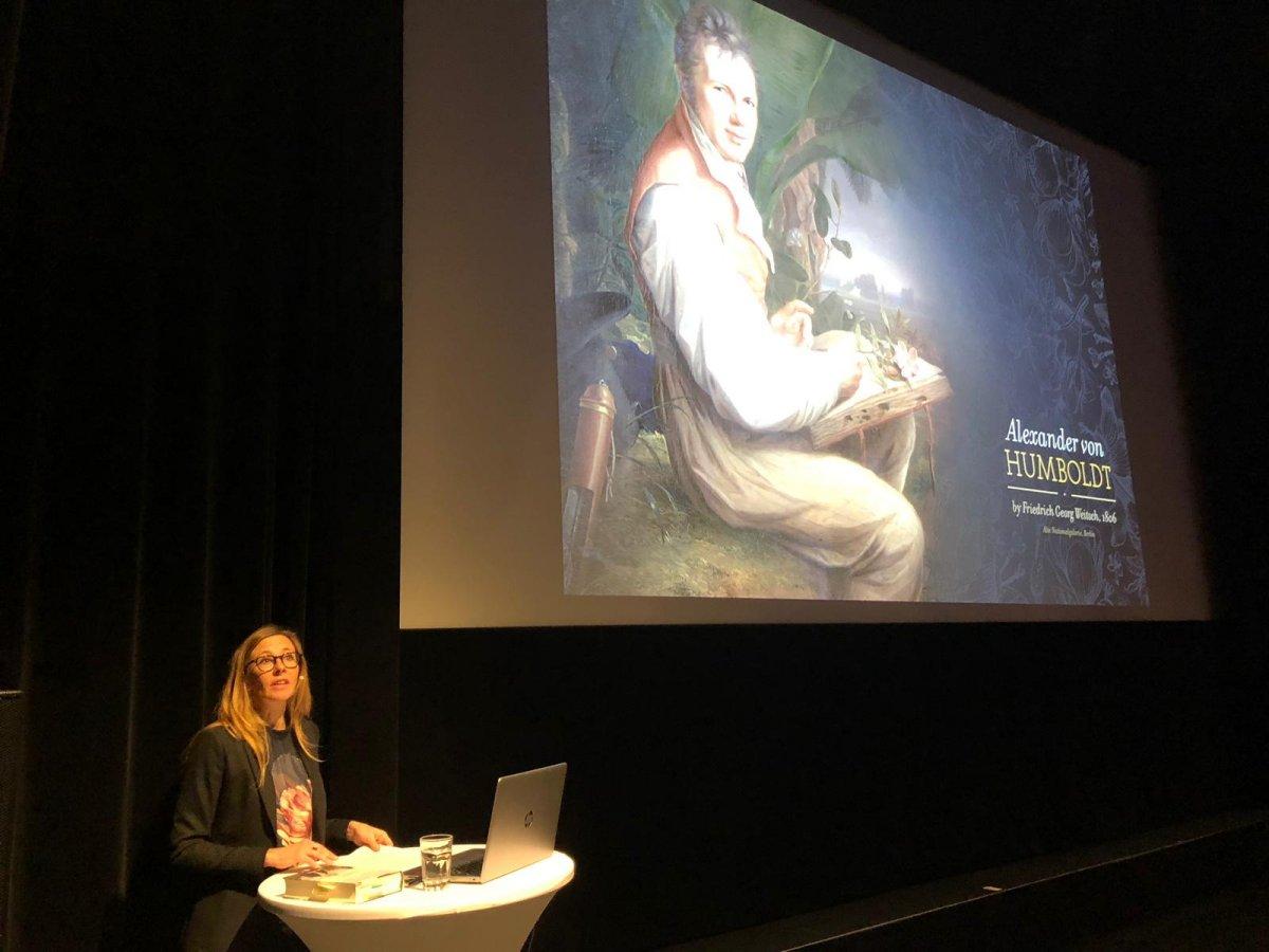 Humboldt-Bestsellerautorin Andrea Wulf erstmals in Salzburg zu Gast